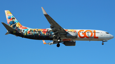 PR-GUO - Boeing 737-8EH - GOL Linhas Aereas