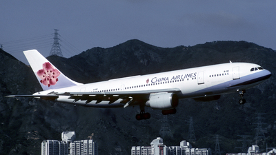 B-190 - Airbus A300B4-220 - China Airlines