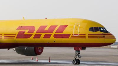 A picture of GBMRJ - Boeing 757236(SF) - DHL - © Michal Furmanczak