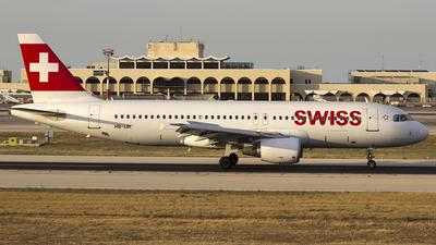 HB-IJK - Airbus A320-214 - Swiss