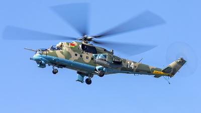 14 - Mil Mi-24P Hind F - Belarus - Air Force