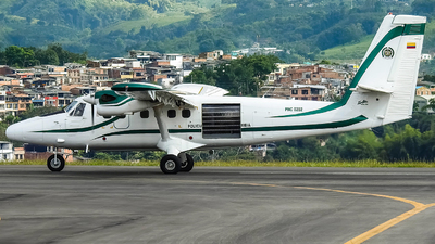 PNC0202 - De Havilland Canada DHC-6-300 Twin Otter - Colombia - Police