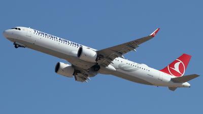 TC-LTI - Airbus A321-271NX - Turkish Airlines