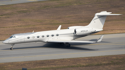 N550JH - Gulfstream G550 - Private