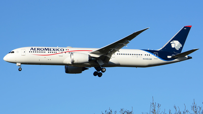 N446AM - Boeing 787-9 Dreamliner - Aeroméxico