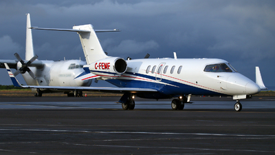 C-FEMF - Bombardier Learjet 40 - Fox Flight
