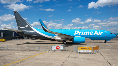 N855DM - Boeing 737-83N(SF) - Amazon Prime Air