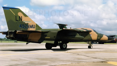 71-0884 - General Dynamics F-111F Aardvark - United States - US Air Force (USAF)
