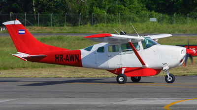 HR-AWN - Cessna TU206G Turbo Stationair - Private