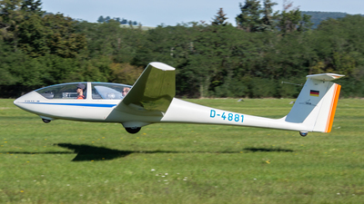 D-4881 - Grob G103 Twin Astir II - Private
