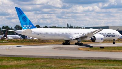 N779XY - Boeing 777-9X - Boeing Company