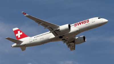 A picture of HBJCL - Airbus A220300 - Swiss - © Hanjo Schrenk