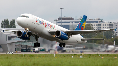 SP-HAI - Airbus A320-233 - Small Planet Airlines Polska