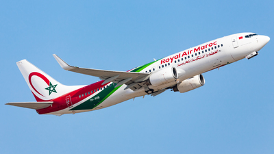 CN-ROB - Boeing 737-8B6 - Royal Air Maroc (RAM)