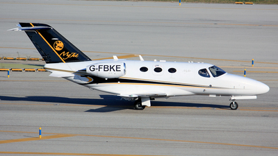 G-FBKE - Cessna 510 Citation Mustang - Private