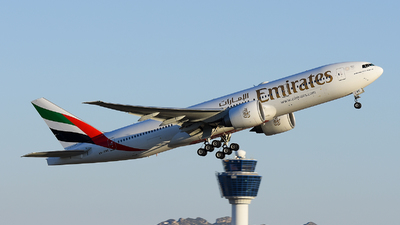 A picture of A6EWE - Boeing 77721H(LR) - Emirates - © Alex Maras