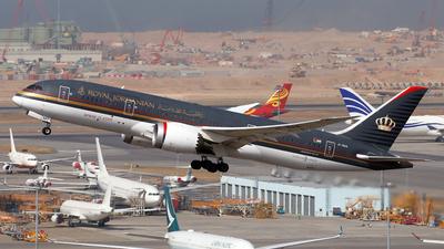 A picture of JYBAA - Boeing 7878 Dreamliner - Royal Jordanian - © Jubilant Chan - AHKGAP