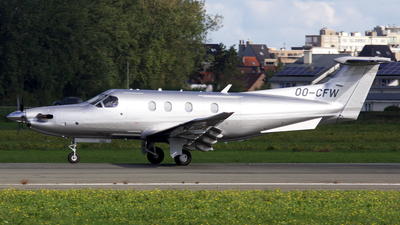 OO-CFW - Pilatus PC-12/47E - Private