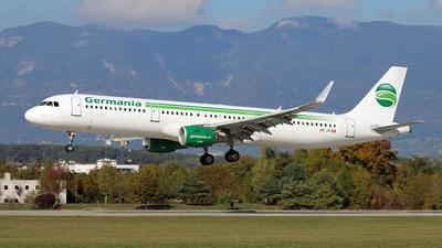 HB-JOI - Airbus A321-211 - Germania Flug