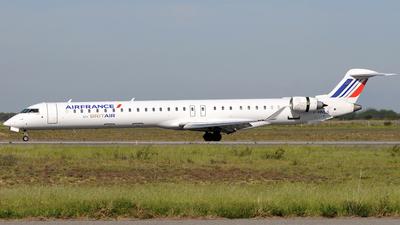 F-HMLG - Bombardier CRJ-1000 - Air France (Brit Air)