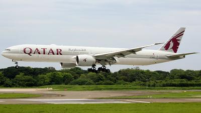 A picture of A7BAQ - Boeing 7773DZ(ER) - Qatar Airways - © Luqman Alif