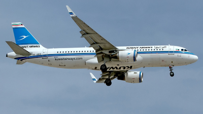 A picture of 9KAKG - Airbus A320214 - Kuwait Airways - © M. Azizul Islam