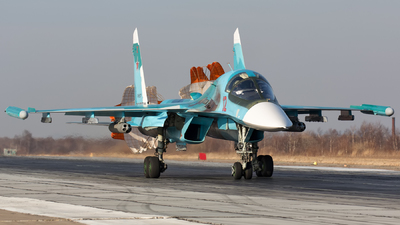 RF-81727 - Sukhoi Su-34 Fullback - Russia - Air Force