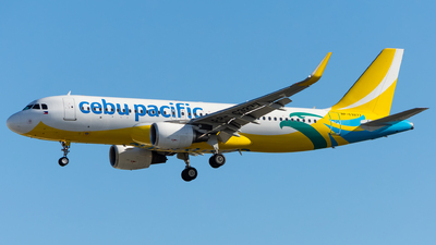 RP-C3277 - Airbus A320-214 - Cebu Pacific Air