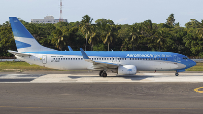 A picture of LVGUC - Boeing 7378SH - Aerolineas Argentinas - © Arthur Araujo BASV