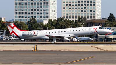 A picture of N247JX - Embraer ERJ145LR - JSX - © Alex Crail