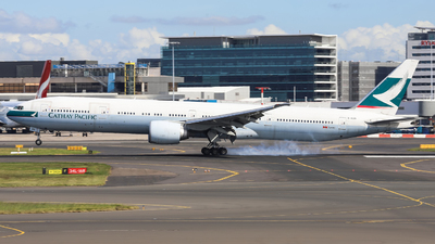 B-KQN - Boeing 777-367ER - Cathay Pacific Airways