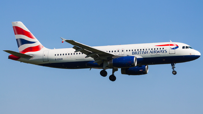 G-EUUD - Airbus A320-232 - British Airways
