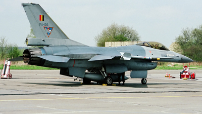 FA-136 - General Dynamics F-16A Fighting Falcon - Belgium - Air Force