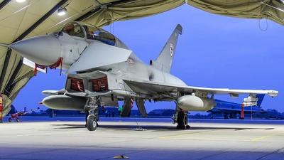 ZJ810 - Eurofighter Typhoon T.1 - United Kingdom - Royal Air Force (RAF)