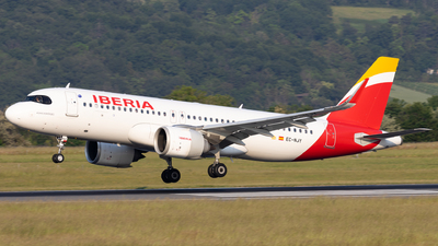 EC-NJY - Airbus A320-251N - Iberia