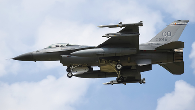 87-0246 - General Dynamics F-16C Fighting Falcon - United States - US Air Force (USAF)