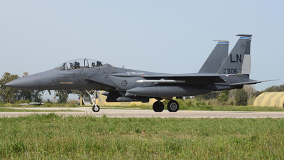 91-0306 - McDonnell Douglas F-15E Strike Eagle - United States - US Air Force (USAF)
