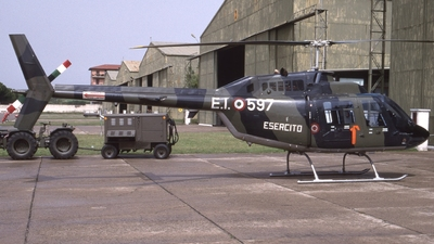 MM80865 - Agusta-Bell AB-206C-1 JetRanger - Italy - Army