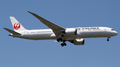 A picture of JA873J - Boeing 7879 Dreamliner - Japan Airlines - © M.T