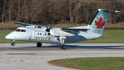 C-GANQ - Bombardier Dash 8-102 - Air Canada Express (Jazz Aviation)