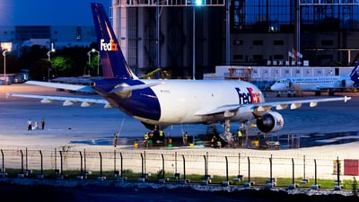 A picture of N751FD - Airbus A300B4622R(F) - FedEx - © Johnny_Tian