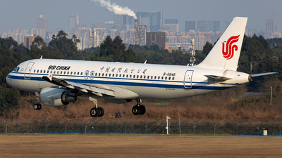 A picture of B6846 - Airbus A320214 - Air China - © SakaiWakana