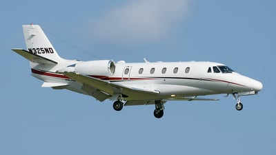 A picture of N325ND - Cessna 560XL Citation Excel - Delta Private Jets - © DJ Reed - OPShots Photo Team