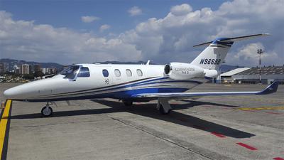 N966BB - Cessna 525 CitationJet M2 - Private