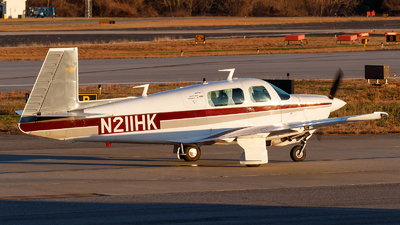 N211HK - Mooney M20F - Private