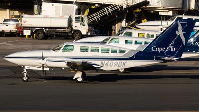 A picture of N409BK - Cessna 402C - Cape Air - © Alex Crail