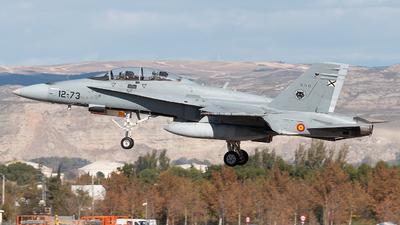 CE.15-10 - McDonnell Douglas EF-18BM Hornet - Spain - Air Force