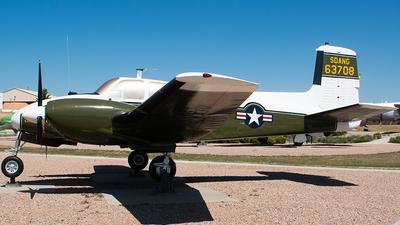 56-3708 - Beechcraft U8-F Seminole - United States - US Army