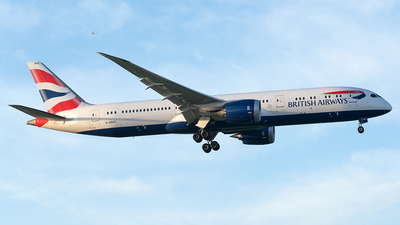 G-ZBKE - Boeing 787-9 Dreamliner - British Airways