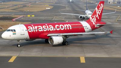 A picture of VTMLE - Airbus A320214 - AirAsia - © Sanskar nawani
